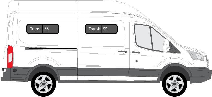 Ford Transit Van Aftermarket Conversion Windows Rv