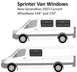 Sprinter Van Conversion Windows (2007 – Current)
