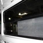 Inside View van windows