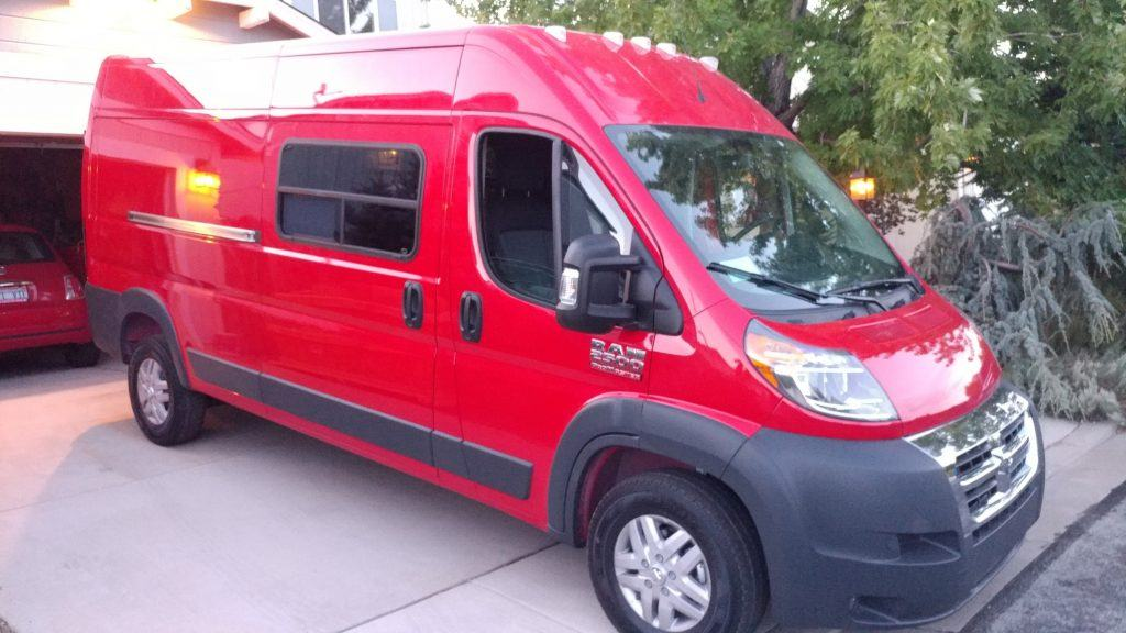 Uploaded ToRam ProMaster Van Conversion Windows