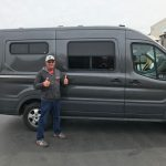 Ford Transit Van Conversion Windows