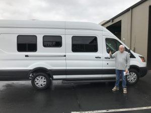 Ford Transit Van Aftermarket Conversion Windows