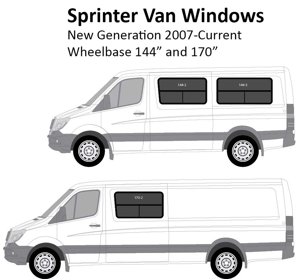 Sprinter Van Conversion Windows New Generation 2007