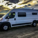 Ram ProMaster Van Conversion Windows