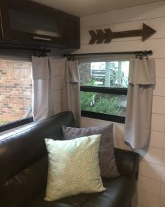 rv window curtains